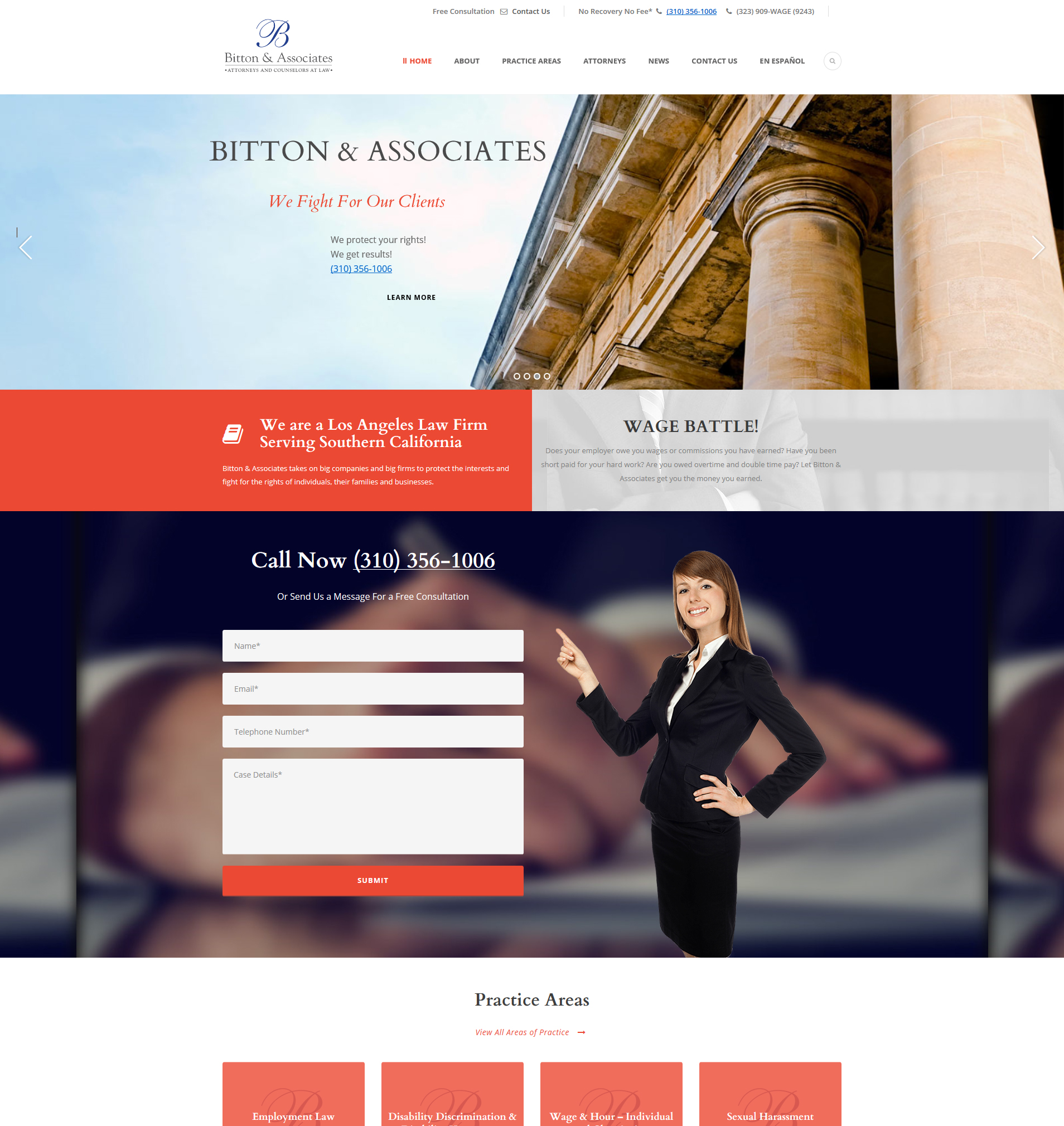 Business law website